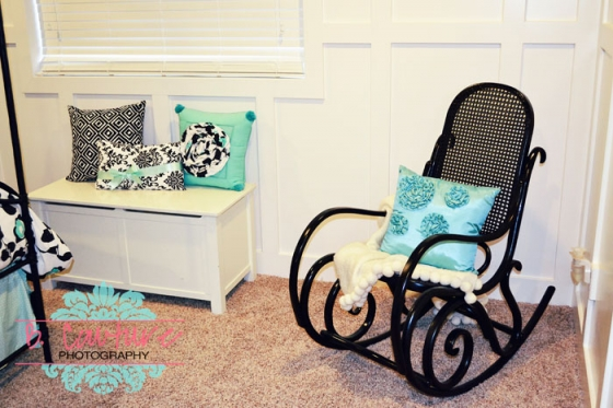 1106 AVERIES BEDROOM 001 TURQUOISE AND BLACK GIRLS BEDROOM {WEDNESDAY DESIGN INSPIRATION}