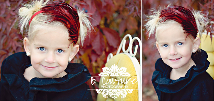 MYA IN RED HEADBAND B COUTURE FAB VENDORS {LITTLE BITS CHIC}