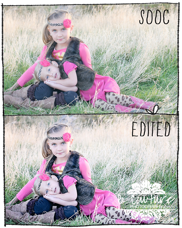 BRYN AND MYA PHOTOSHOP EDITS PHOTOSHOP FUN {UTAH CHILD PORTRAIT PHOTOGRAPHER}