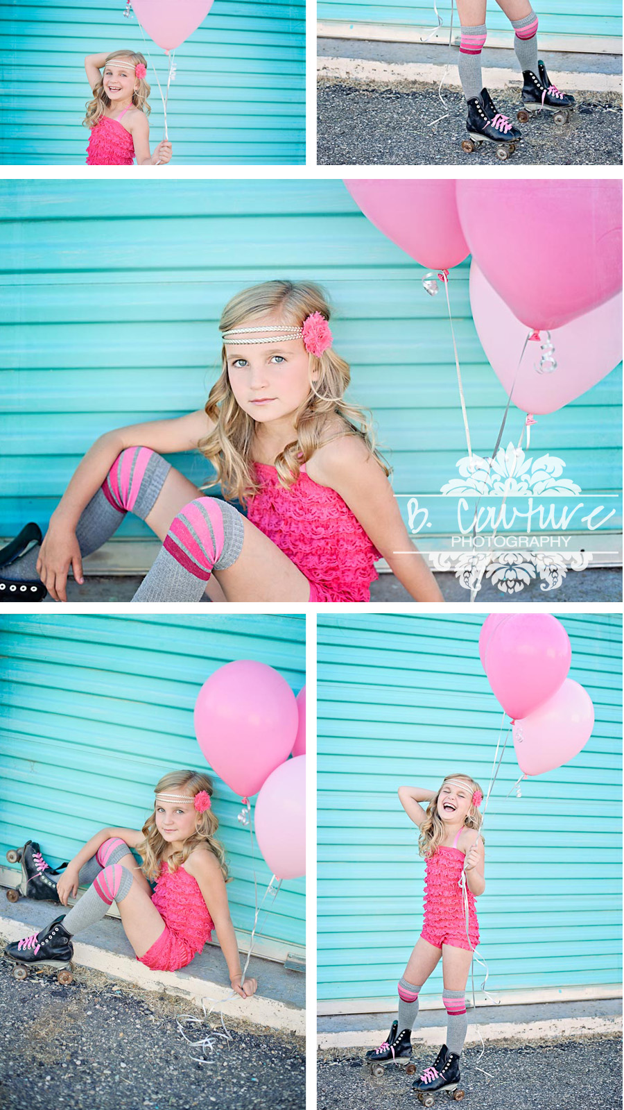 BRYNLEE BALOON RETRO ROLLER BEAUTY! {UTAH CHILD PHOTOGRAPHER}