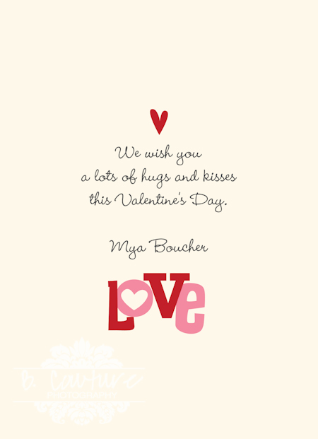 VALENTINES LOVE MINI SESSIONS B Couture Photography – Valentines Day Card Examples