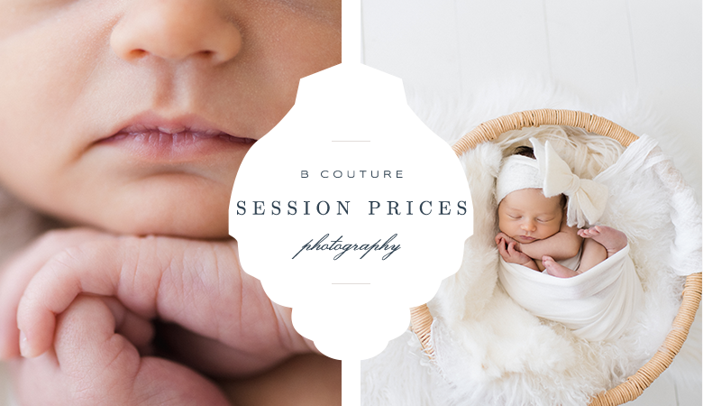 Session prices b couture photography